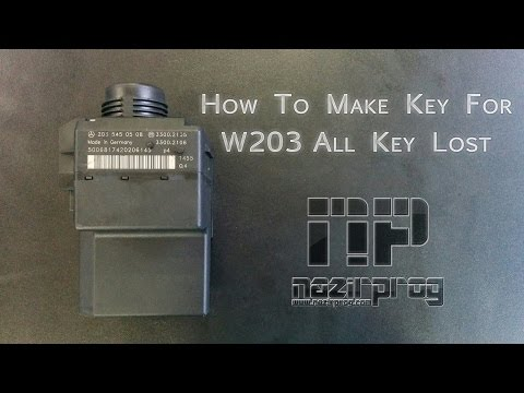 How To Make Key For Old W203 EIS All Key Lost By VVDI MB - NazirProg