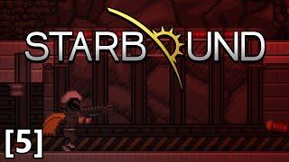 Starbound - Part 5 - Erchius Mining Facility, Erchius Horror Boss Fight