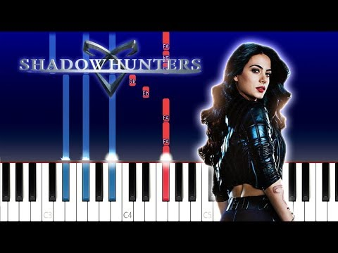 Shadow Hunters - This Is The Hunt (Ruelle) (Piano Tutorial)