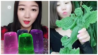 Ice Eating Satisfying Video ASMR - makan es batu ternikmat MUKBANG Crunchy #  84