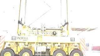 Straddle carrier Noell