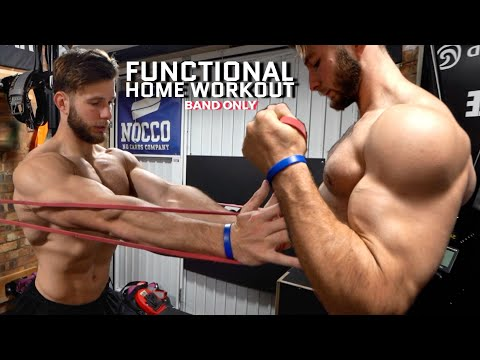 FULL BODY HOME WORKOUT | Functional Focus, Resistance Bands Only