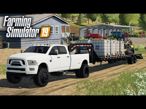 "FS19- THE ""BIG PULLER"" HAS ARRIVED! FIRST MODS IN FARMING SIMULATOR 2019"