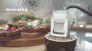 [SUB] 오픈샌드위치 6가지 레시피 with 호밀빵 …