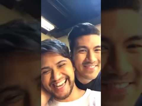 Luis Manzano FB Live  ASAP Backstage with Billy, Bamboo, Jay R & Elmo