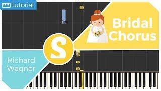 How to play BRIDAL CHORUS by Richard Wagner | Smart Kids Piano | Kids Piano Tutorials