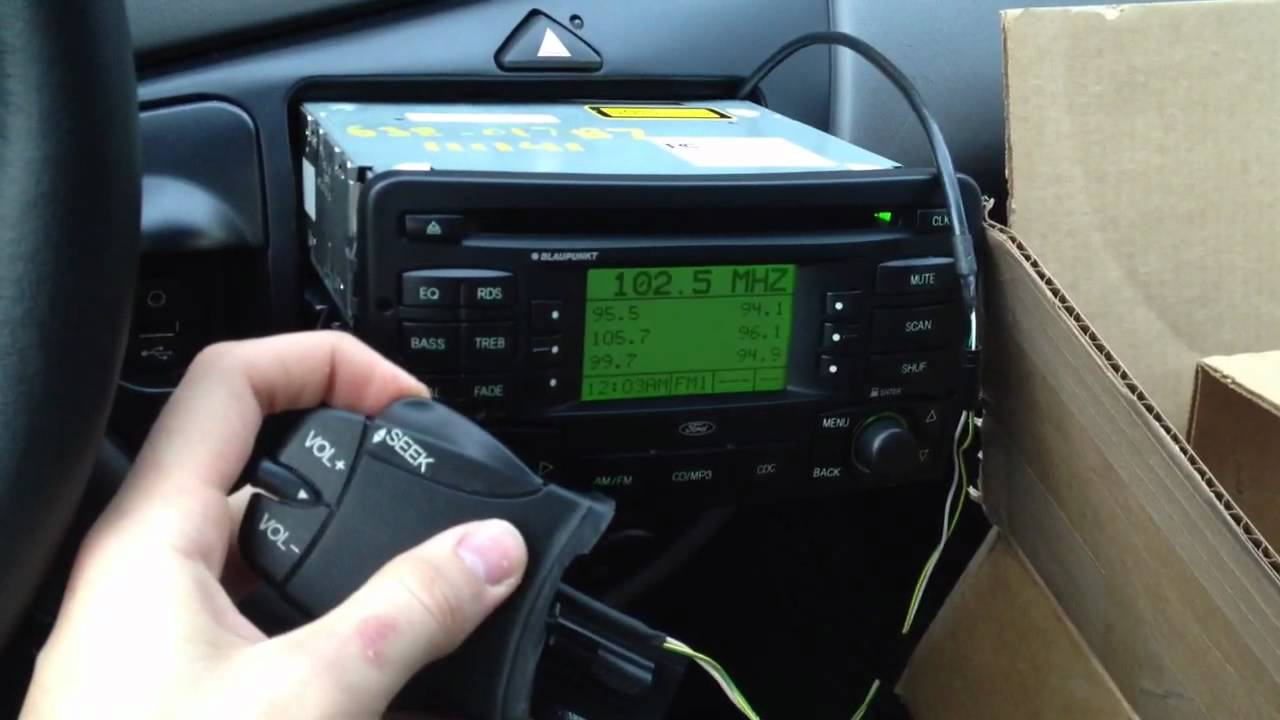small resolution of steering column controls working with ford focus blaupunkt radio