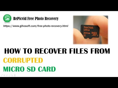 Corrupted Micro SD Card Recovery