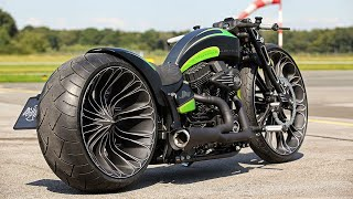 """😈 Harley-Davidson® Softail Custom """"Racing 2.0"""" by Thunderbike"""