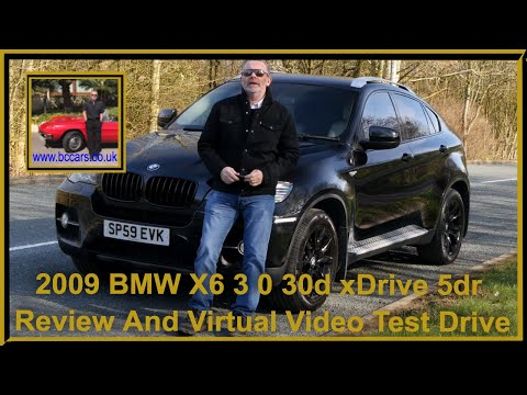 2009 BMW X6 3 0 30d xDrive 5dr | Review And Test Drive