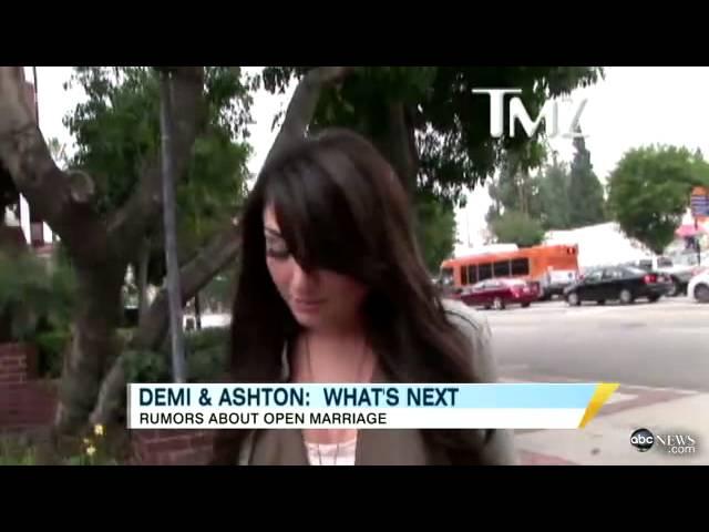 Ashton Kutcher, Demi Moore Divorce\: Alleged Mistress Talks As Open Marriage Blamed for Split