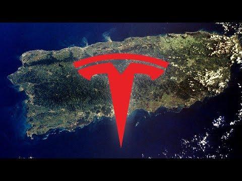 Can Tesla Rebuild Puerto Rico Power Grid? (Sí Se Puede)