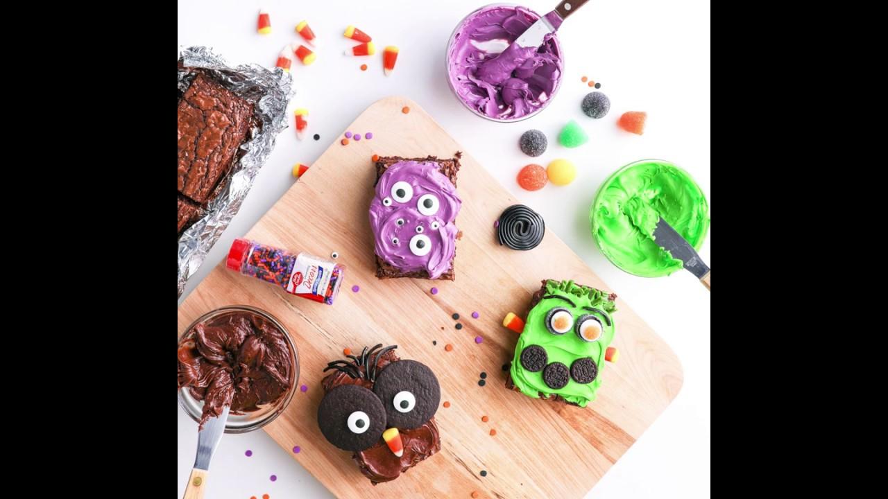Make Your Own Halloween Brownies | Betty Crocker Recipe