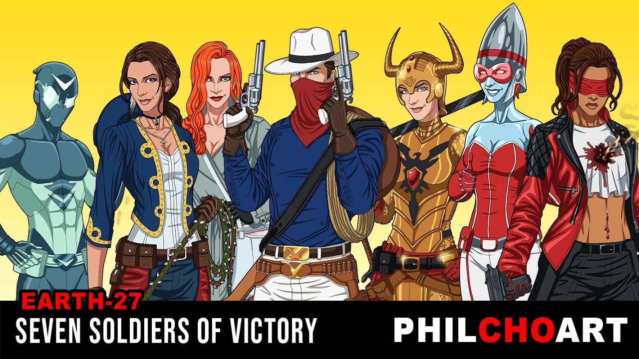 Earth-27 Seven Soldiers of Victory