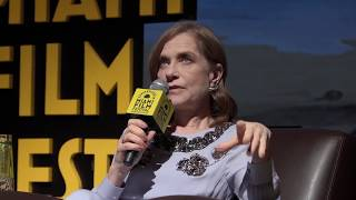 Isabella Huppert tribute Miami Film Festival 2018