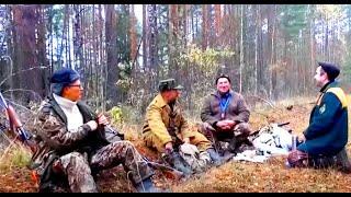 Охота с Русскими гончими на зайца 2015