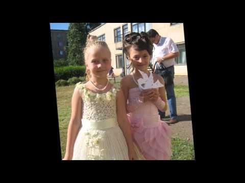 Модные выпускные платья для девочек детского сада