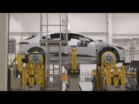 2019 Jaguar I-PACE Production - Dauer: 17 Minuten