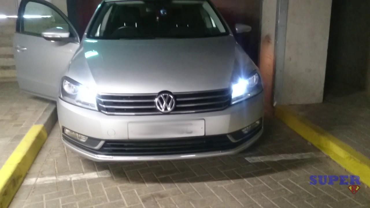 vw cc headlight upgrade