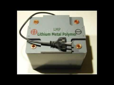 lithium metal polymer DBM Energy Lekker Energie Audi A2 Kolibri AlphaPolymer Technology
