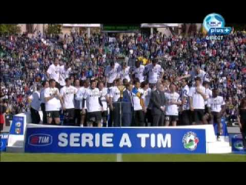 Inter champions serie a 16.05.2010  # part 2