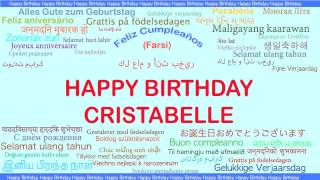 Cristabelle   Languages Idiomas - Happy Birthday