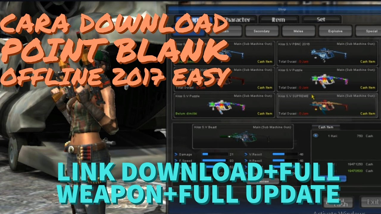 Pointblank offline 2017, cara install + gameplay 13 map youtube.
