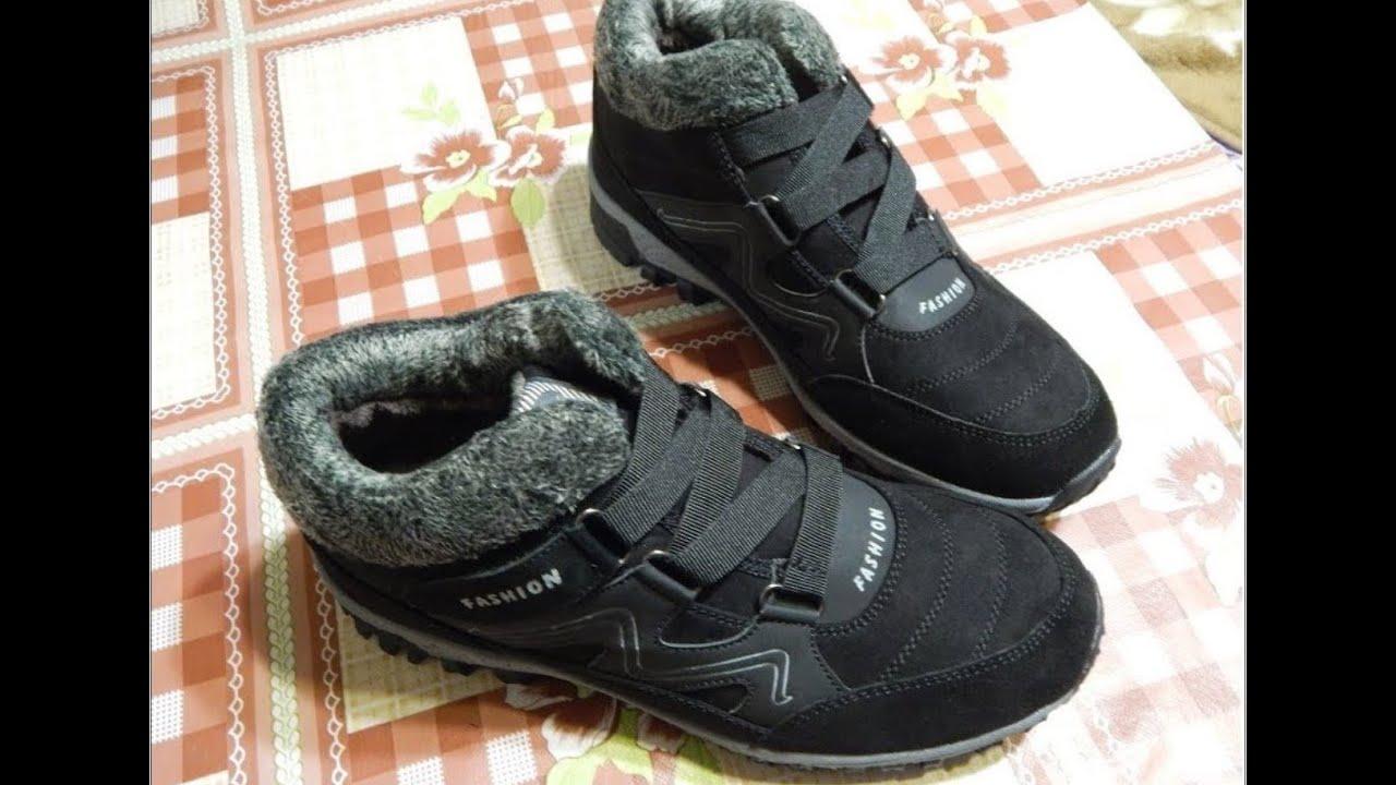 Зимние кроссовки с Aliexpress
