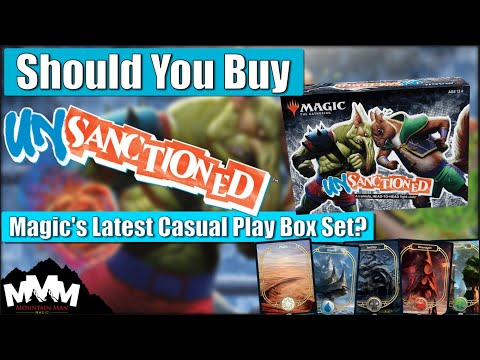 MTG Unsanctioned 2020 Box Set - Should You Buy It!? Reviewing The Latest Magic UN-set Pros And Cons