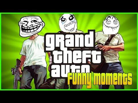 GTA V BEST FUNNY MOMENTS | 2017