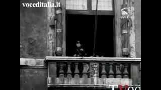 Benito Mussolini annuncia la dichiarazione di guerra a Francia e Gran Bretagna, 10 giugno 1940