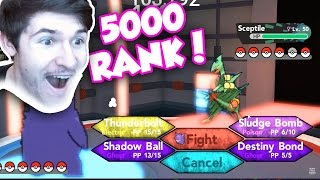 Beating a 5000 Raฑked Player In Pokemon Brick Bronze! Captain_Crush VS. RussoPlays