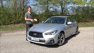 Infiniti Q50S Hybrid AWD Sport Tech 2018 268 kW / 364 PS Review, Alltags-Test