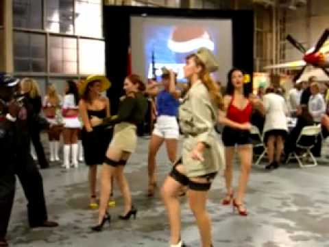 Army Pin Up Girl Wallpaper Warbird Pinup Girls 2010 Events Highlights Youtube