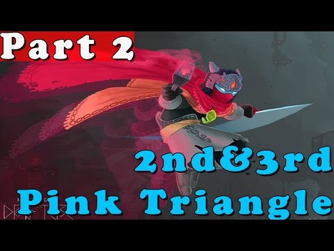 #2| Hyper Light Drifter Gameplay Walkthrough Guide | 2nd & 3rd Pink Triangle | PC HD No Commentary