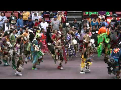 Youth Grand Entry - Black Hills Pow Wow 2017 Saturday Afternoon