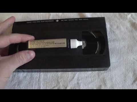 Using a 1985 VCR Head Cleaner