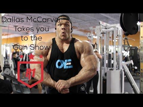 Dallas McCarver Takes you to the Gun Show - Massive Arm Day