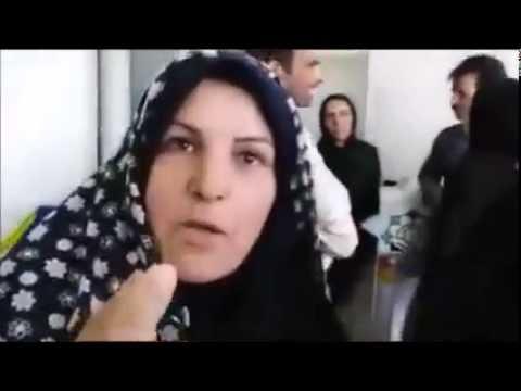 درگیری روستاییان با پلیس رژیم در استان فارس