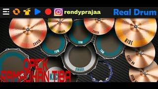 OPICK - RAMADHAN TIBA || REAL DRUM COVER