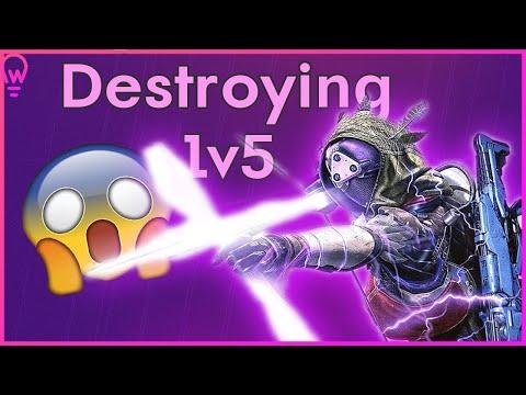 Winning A 1v5 In Supremacy | Destiny 2 Shadowkeep Nightstalker PvP