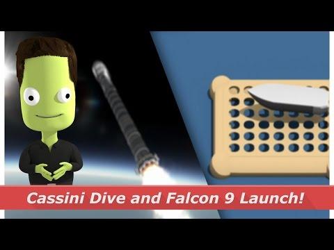Cassini's Saturn Dive and Falcon 9 launches!   kNews W.17/2017