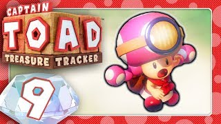 🔴 CAPTAIN TOAD: TREASURE TRACKER 🍄 #9: Toadettes große Herausforderung