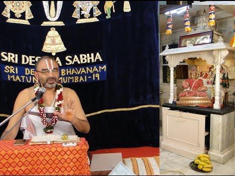 27 Sep 2015 Pt.(1)Kanchi DD Anubhavam Swami Desika Sri Velukkudi Krishnan Upanysam