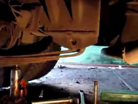как заменить сайлентблок на задней рессоре автобуса Богдан