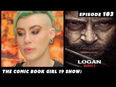 All the feels while reviewing Logan.
