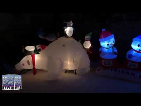 Christmas Wonderland at Somers Gardens in St. George's, December 21 2019