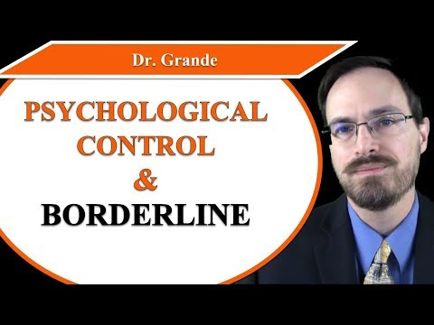 Maternal Psychological Control And Borderline Personality Disorder