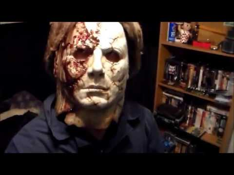 Halloween 2 Rob Zombie Mask.Halloween 2 2009 Michael Myers Mask Rob Zombie