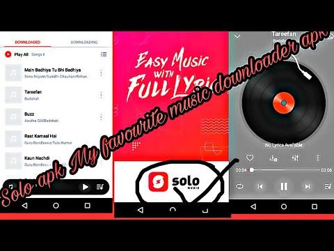 Solo Music Apk 1of Music Downloader Apk Or Lyrics Free In Music